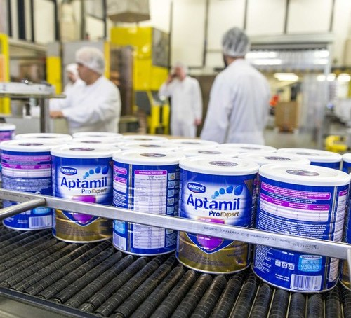 Danone restructures business to meet new goals