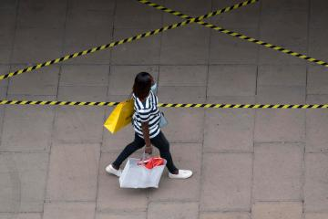 UK retail sales dip as consumers, freed from locked down, dine out