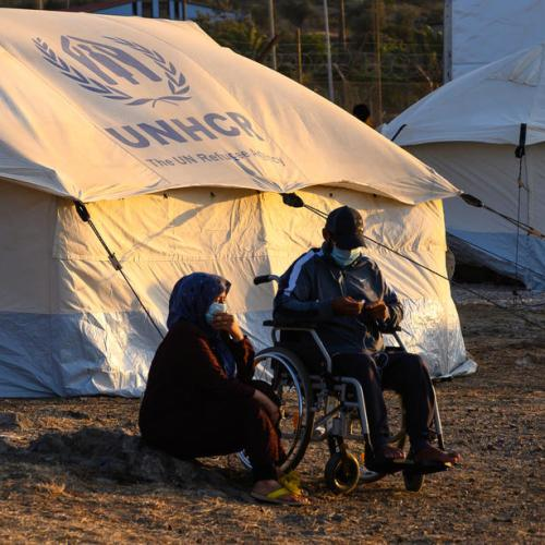 Greece to build new camps, cut migrant reception stays on islands