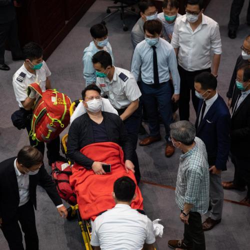 Hong Kong authorities arrest seven opposition activists