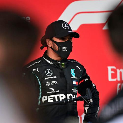 Hamilton wins at Imola as Mercedes clinch constructors' title