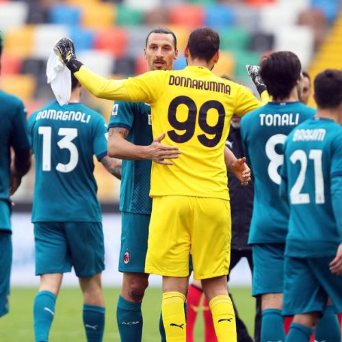 Ibrahimovic's acrobatic strike stretches Milan's unbeaten run