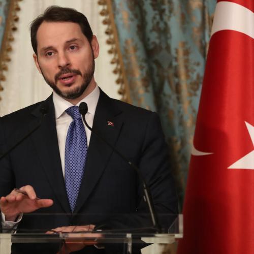 Turkish Finance Minister resigns