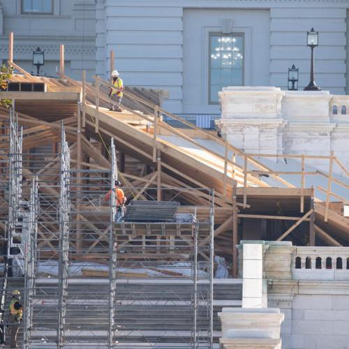 Photo Story: US Presidential Inauguration ceremony preparations going as planned