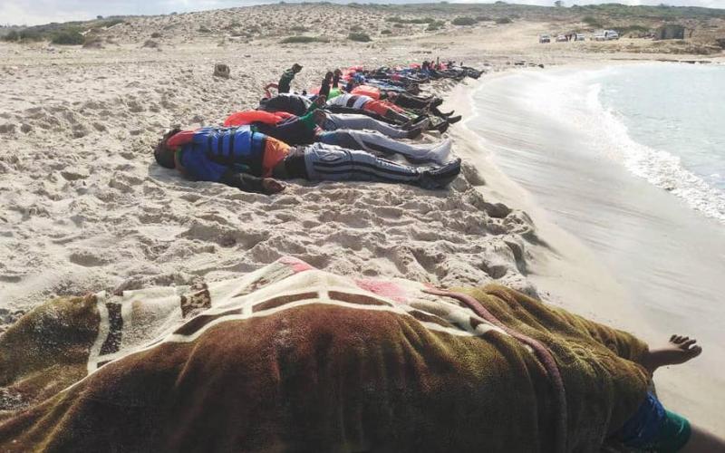 At least 57 migrants die in shipwreck off Libyan coast – U.N.