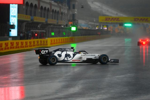 Spin the rain – F1 in Turkey