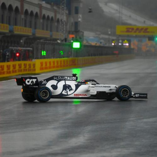 Spin the rain – F1 in Turkey