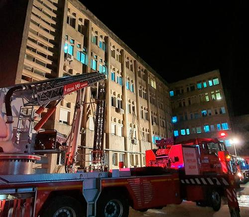 Fire at COVID-19 hospital in Romania kills four