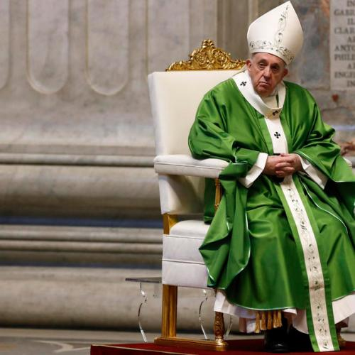 Pope says his brush with death helps him relate to Covid victims