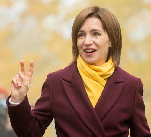 UPDATED: Sandu wins presidential run-off in Moldova