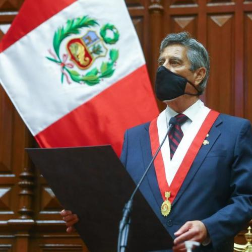 Peru gets 3rd president in a week