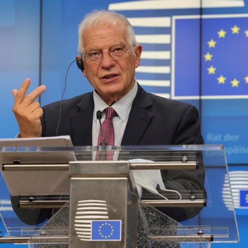 Turkey's behaviour 'widening its separation' from EU, Borrell says