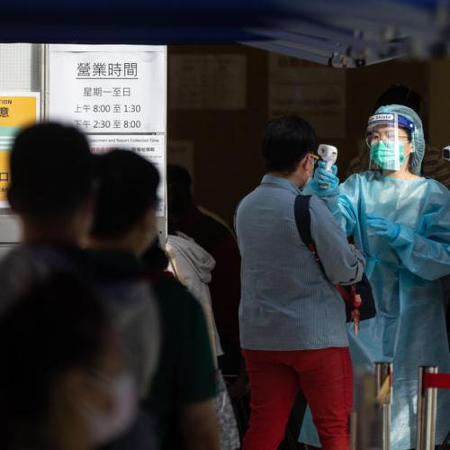Hong Kong reports 4-month high 115 coronavirus cases