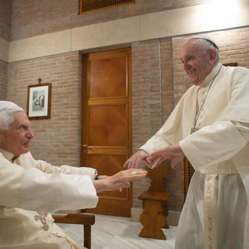 """There is only one Pope""- Pope Emeritus Benedict XVI"