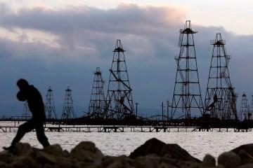 Azerbaijan says Caspian gas platforms safe amid reports of fire