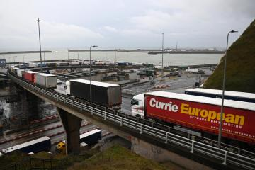 UK government rejects call for new visas to ease post-Brexit truck driver shortage