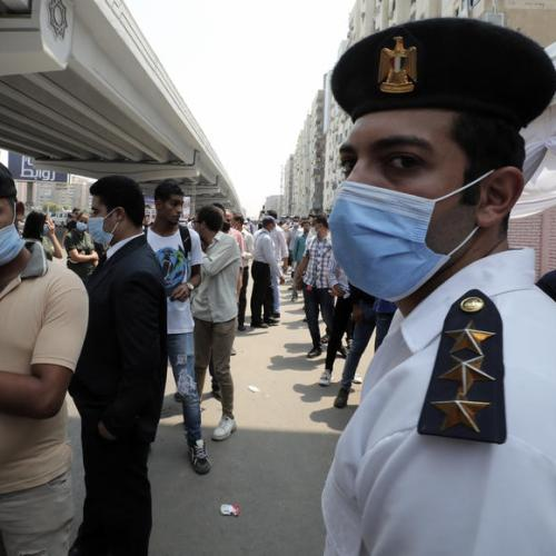 Deadly fire hits Egyptian hospital treating COVID patients