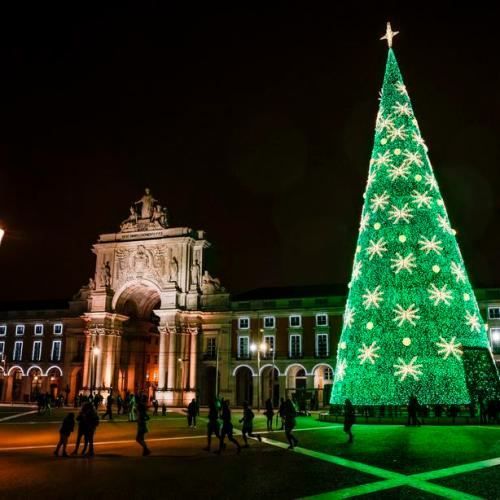 Photo Story: Christmas Lights in Lisbon