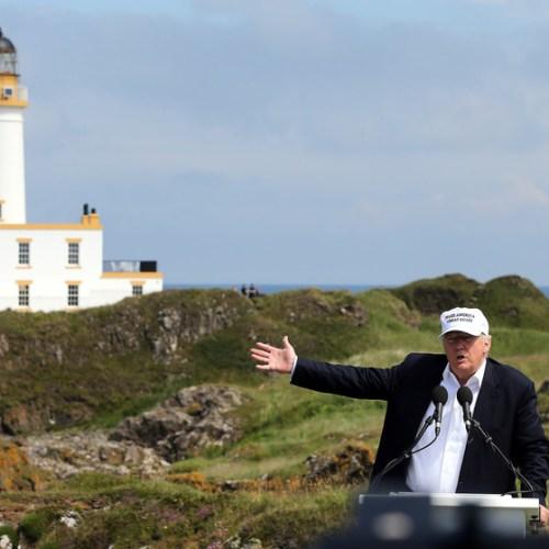 Trump's Scottish golf course posts more losses
