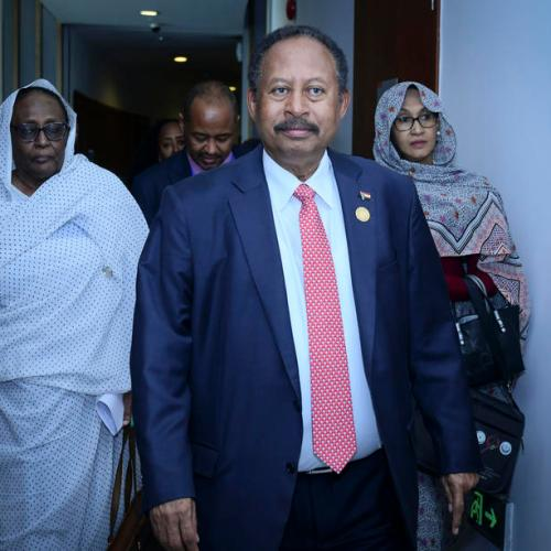 Sudanese PM arrives in Ethiopia with offer to mediate in Tigray