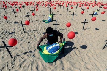 Brazil passes half a million COVID-19 deaths