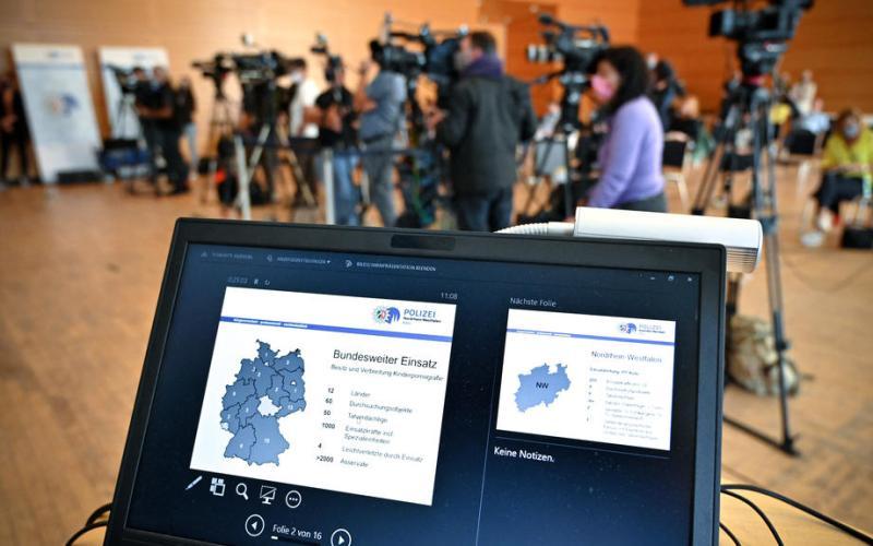 German police search dozens of sites in child pornography investigation