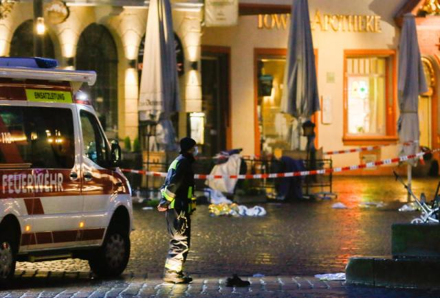Four killed, including baby, as car ploughs into pedestrian zone in Trier, Germany – UPDATED