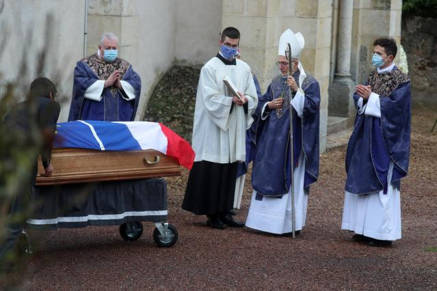 Photo Story: Former French president Valery Giscard d'Estaing laid to rest