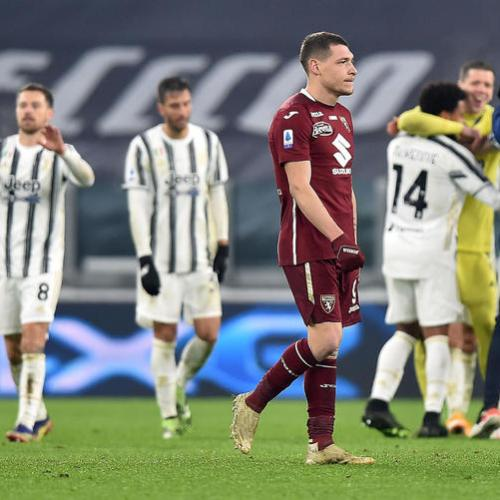 Juventus clinch late win against Torino; Inter beats Bologna easily