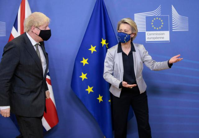 EU rejects UK demand for new post-Brexit deal on Northern Ireland