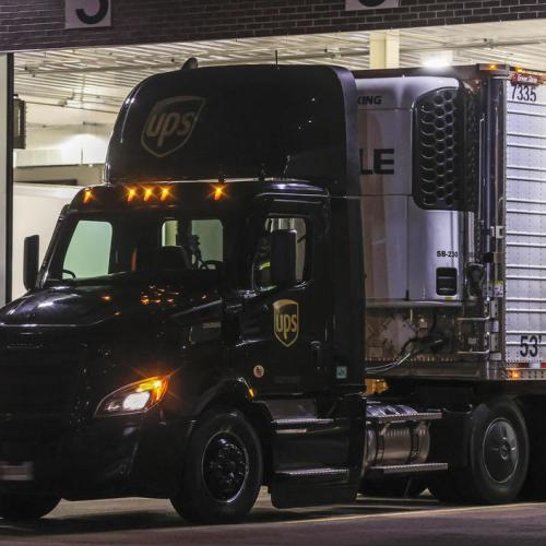 UPDATED: Historic U.S. COVID vaccine campaign launches with convoy of trucks