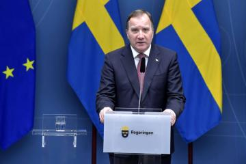 UPDATED: Sweden's Lofven re-elected PM in parliament vote