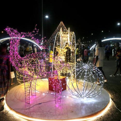 Photo Story: The Abidjan Festival of Lights