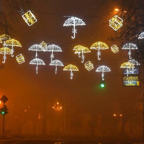 Photo Story: Christmas light in Skopje