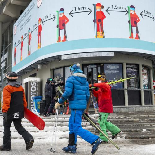 Swiss police probe 12 Brits suspected of fleeing ski resort quarantine