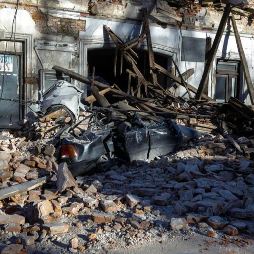 In Pictures – Earthquake strikes central Croatia, killing five and damaging buildings – Updated