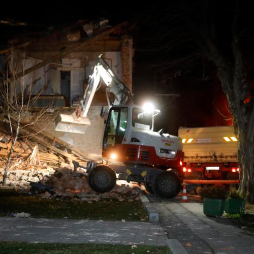 Croatia Earthquake Update -Seven die 20 injured