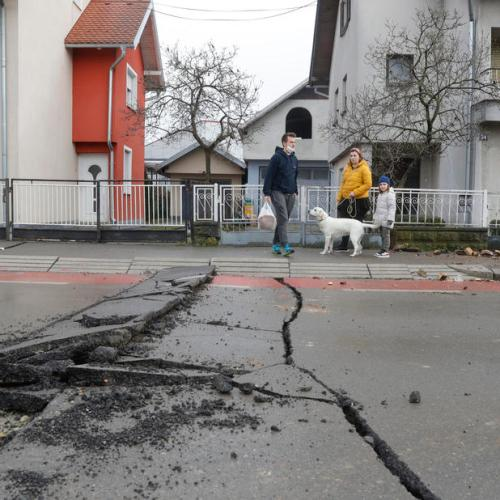Croatia earthquake aftermath