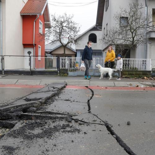Croatia earthquake aftermath