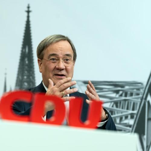 Bavarian leader reaffirms support for Laschet despite poll dip