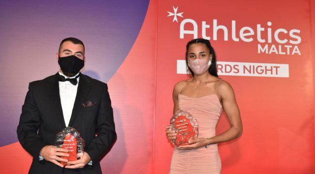 Janet Richard, Luke Farrugia win the Athlete of the Year Award for 2020