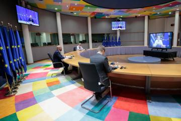 EU leaders set for video summit to discuss COVID-19 on Jan 21