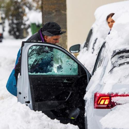 Photo Story: Parts of Spain hit by heavy snowfall