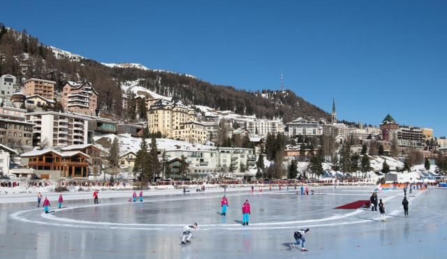 Two hotels quarantined in the Swiss resort of St Moritz