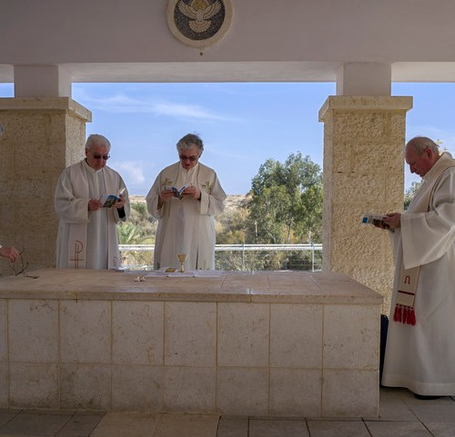 After 54 years, first Mass on the site of the Baptism of Jesus