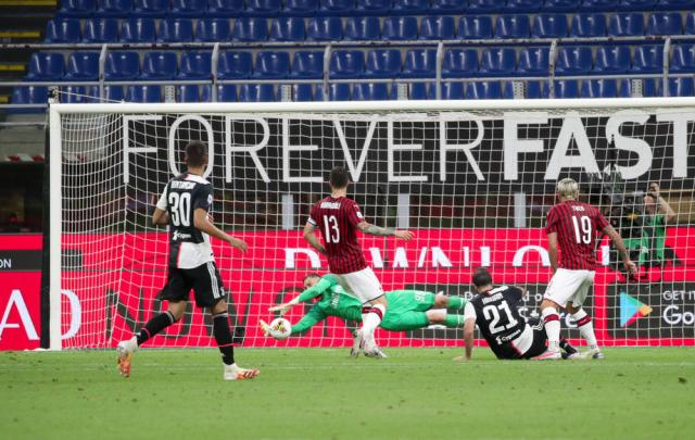 Juventus vs Milan to be played
