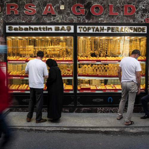 Gold gains as U.S. stimulus prospects weigh on dollar