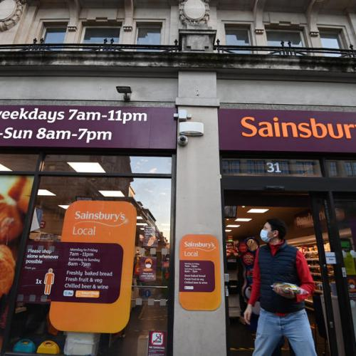 Britain's Sainsbury's seeing good flow of supplies from Europe