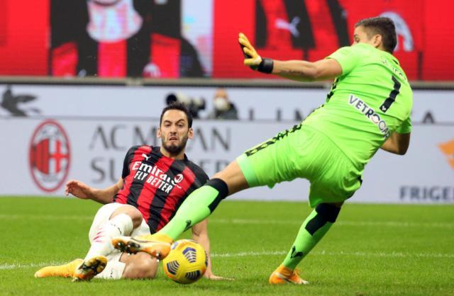 AC Milan Hakan Calhanoglu and Theo Hernandez test positive for Coronavirus