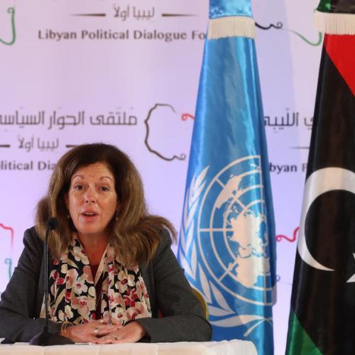 U.N. says Libya talks make progress towards new temporary government